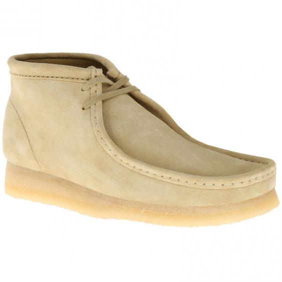 Clarks Wallabee Boot Maple Suede 26155516 (Men's)
