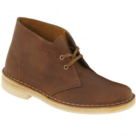 Clarks Desert Boot Beeswax Leather 26138218 (Women's)