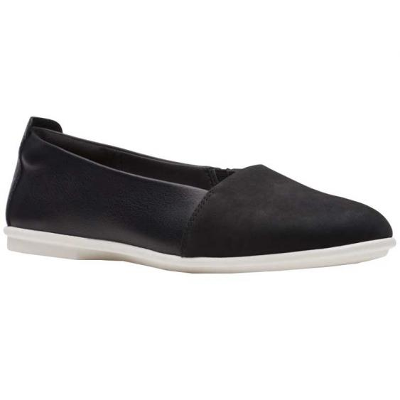 Clarks Un Coral Step Black 26140359 (Women's)