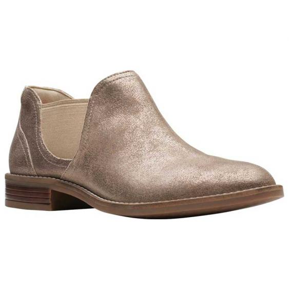 Clarks Camzin Maple Pewter Metallic 26146439 (Women's)