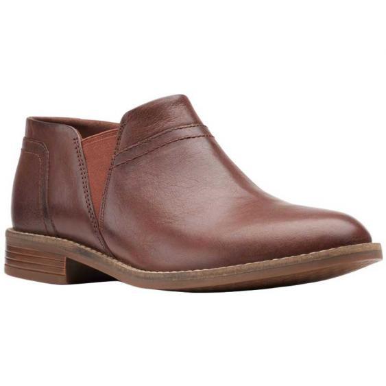 Clarks Camzin Mix Mahogany Leather 26153008 (Women's)