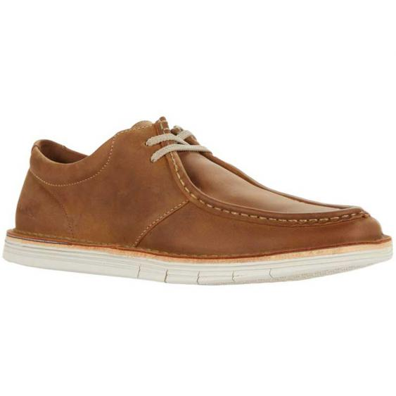 Clarks Forge Run Tan Leather 26157913 (Men's)