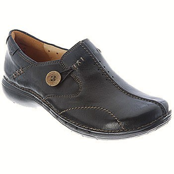 Clarks Unstructured Un.Loop 85071 Black (Women's)