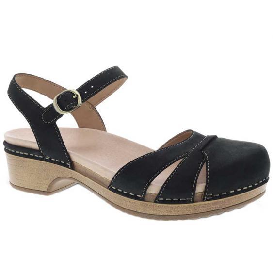 Dansko Betsey Black Milled 9427-471600 (Women's)