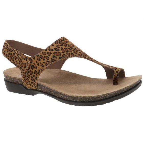 Dansko Reece Leopard Suede 6024-565300 (Women's)