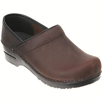 Dansko Professional Oiled Antique Brown/ Black (Women's)