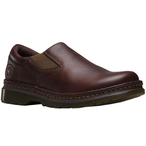 Dr. Martens Orson Slip-On Plain Toe Dark Brown R12674201 (Men's)