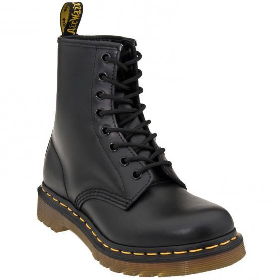 Dr. Martens 1460 Black Smooth Leather R11822006 (Unisex)