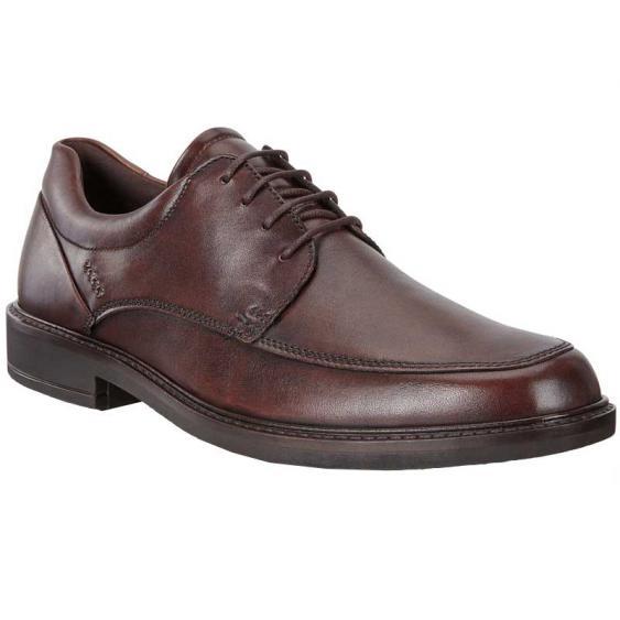 ECCO Holton Apron Toe Tie Cocoa Brown 621114-01482 (Men's)