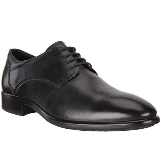 ECCO Citytray Plain Toe Tie Black 512734-01001 (Men's)