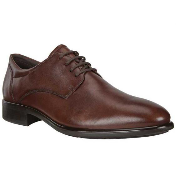 ECCO Citytray Plain Toe Tie Cognac 512734-01053 (Men's)