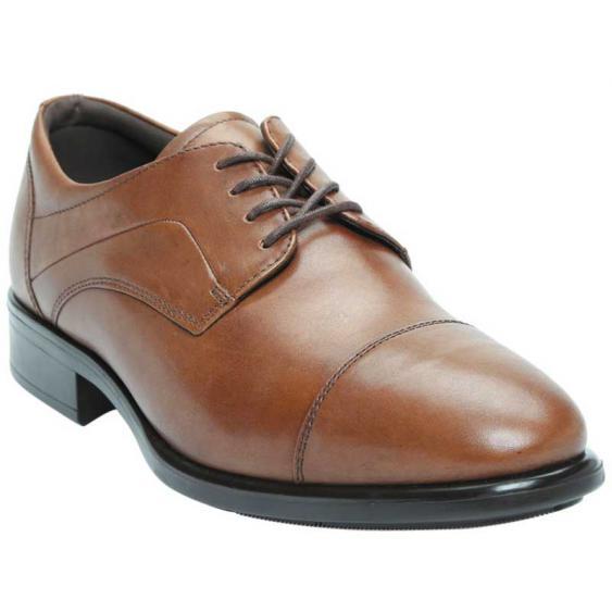 ECCO Citytray Cap Toe Tie Amber 512704-01112 (Men's)