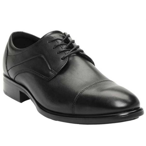 ECCO Citytray Cap Toe Tie Black 512704-01001 (Men's)