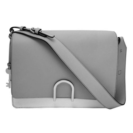 Fossil Finley Shoulder Bag Mineral Gray ZB7456-055