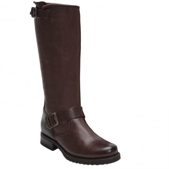 Frye Veronica Slouch Dark Brown 76602 (Women's)