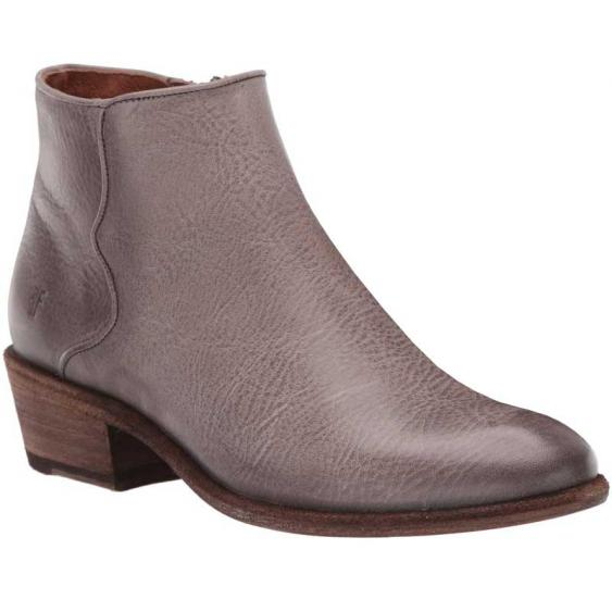 Frye Carson Piping Bootie Graphite 78258 (Women's)