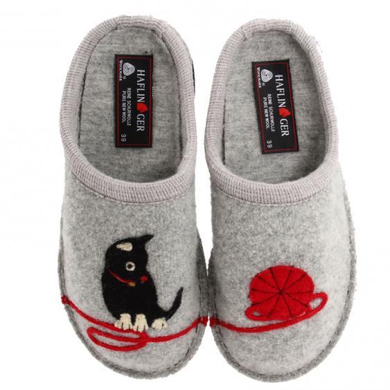 Haflinger Kitty Light Grey (Women's)