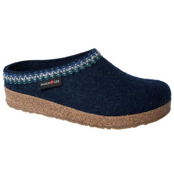 Haflinger Zig Zag Captains Blue (Women's)