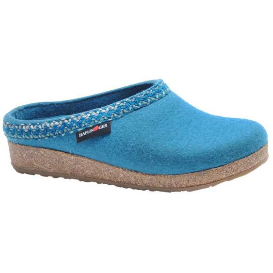 Haflinger Zig Zag Turquoise 711053-93 (Women's)