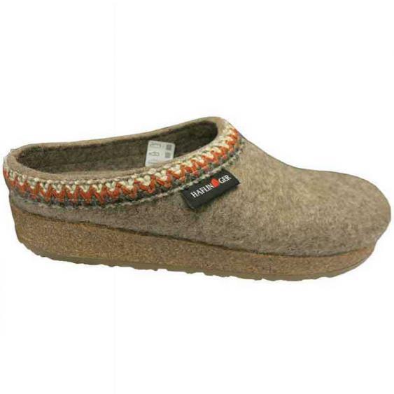 Haflinger Zig Zag Peat Moss 711053-550 (Women's)