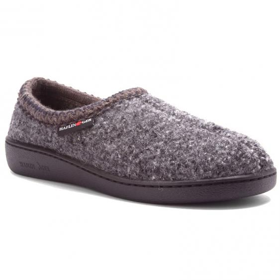 Haflinger ATB73 Dark Gray Slipper (Unisex)