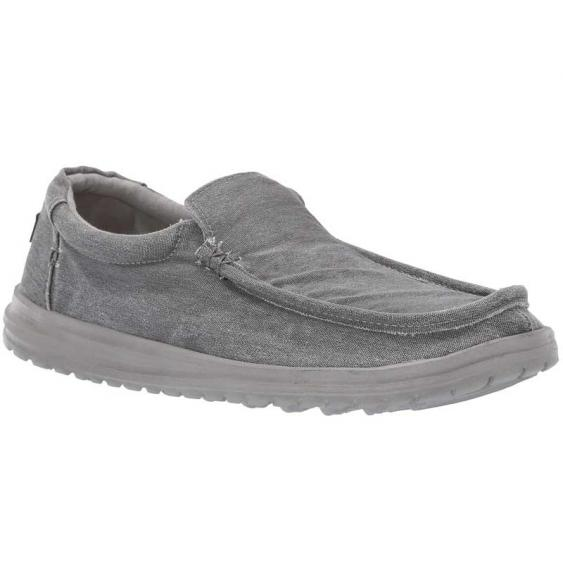 Hey Dude Mikka Washed Stretch Carbon 150304310 (Men's)