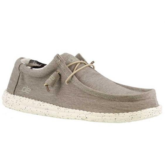 Hey Dude Wally Stretch Beige 11038050 (Men's)