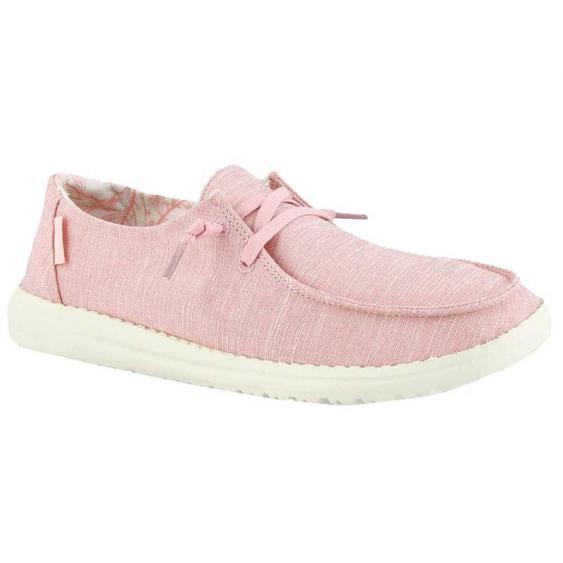 Hey Dude Wendy Linen Pink 121535000 (Women's)