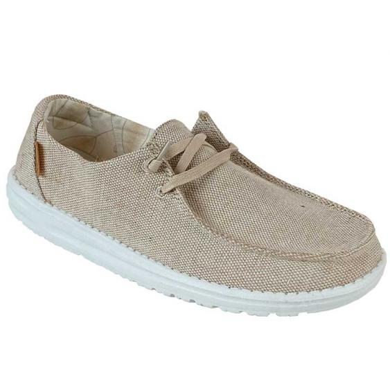 Hey Dude Wendy Beige Gold 121410543 (Women's)