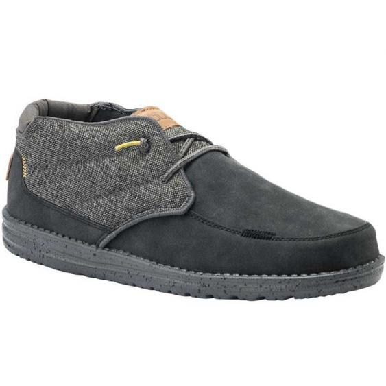 Hey Dude Freddy Black 113344900 (Men's)