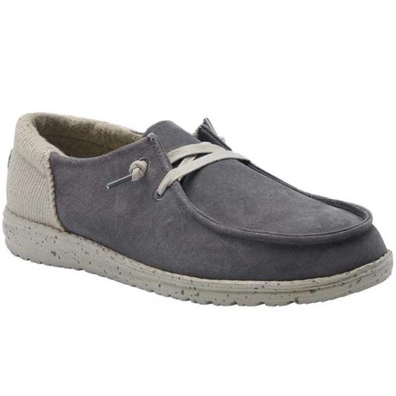 Hey Dude Wendy Suede Dark Grey 121903008 (Women's)