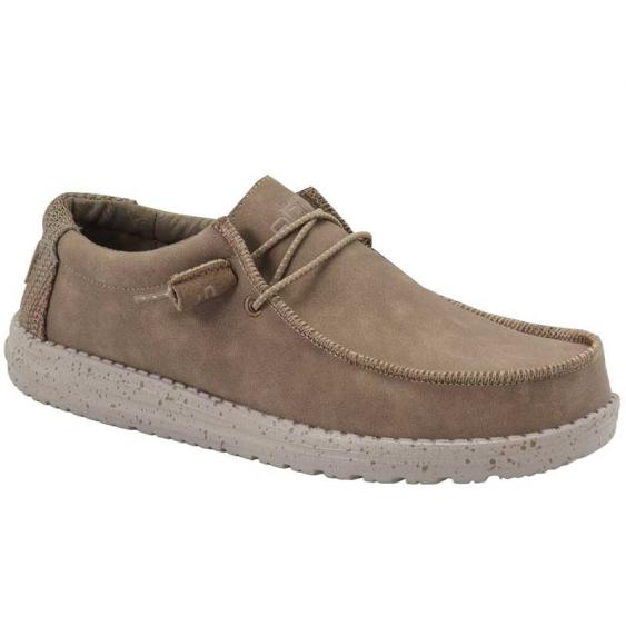Hey Dude Wally Recycled Leather Nut 150201622 (Men's)