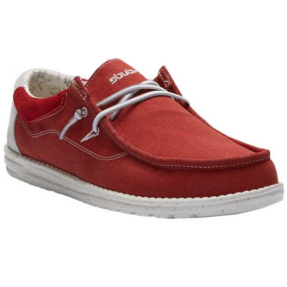 Hey Dude Wally Flow Pompeian Red 112306840 (Men's)