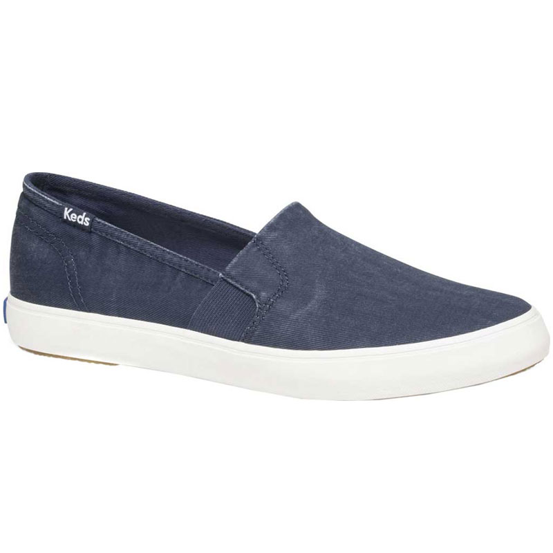 Keds Clipper Washed Solids Navy WF60378