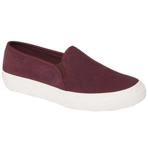 Keds Double Decker Suede Burgundy WH61083 (Women's)