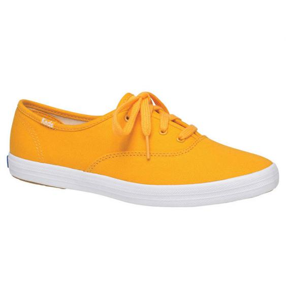 Keds Champion Seasonal Solids Cadmium Yellow WF62904 (Women's)