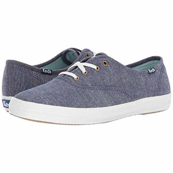 Keds Champion Solid Chambray Navy WF57965 (Women's)