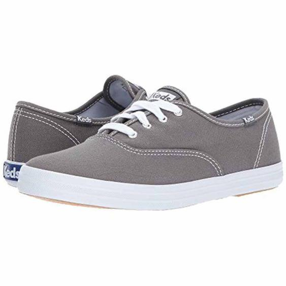 Keds Champion Canvas Graphite Grey WF35186 (Women's)