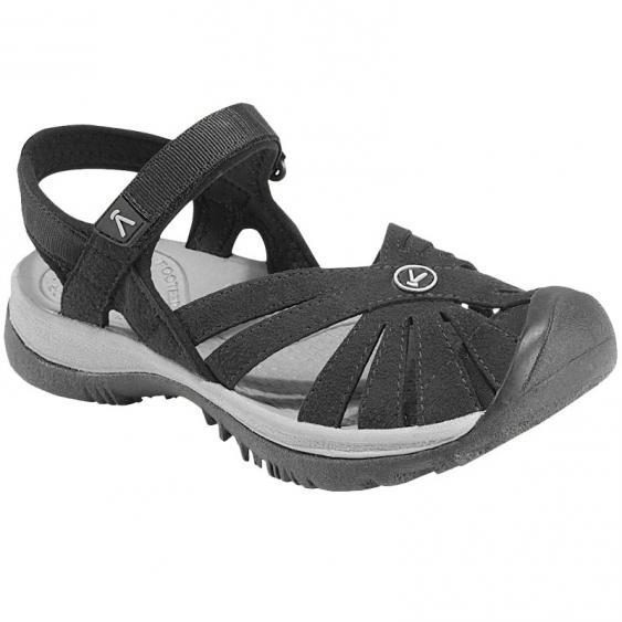Keen Rose Sandal Black/Neutral Grey 1008783 (Women's)
