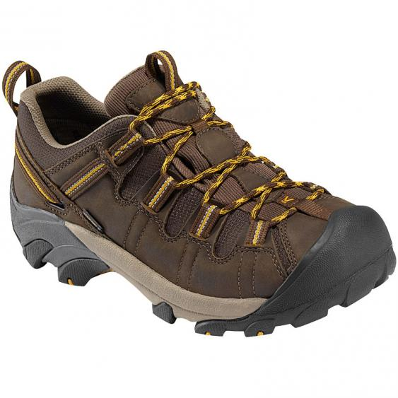 Keen Targhee II Low Cascade Brown / Golden Yellow 1008417 (Men's)