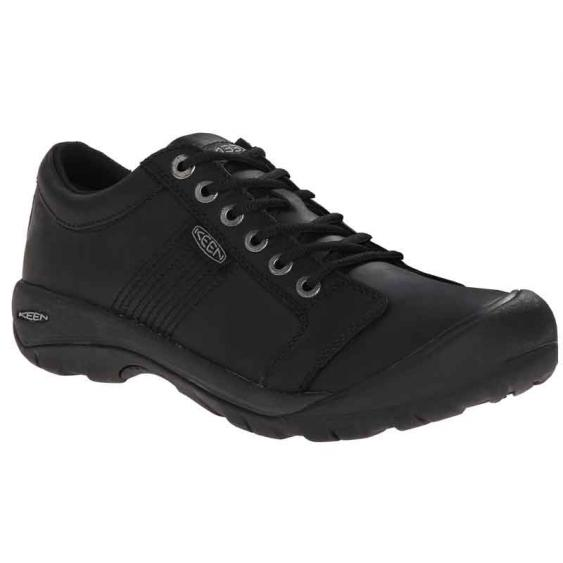 Keen Austin Black Full Grain 1002990 (Men's)