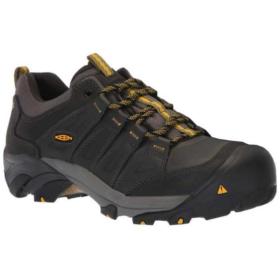 Keen Utility Boulder WP Raven/ Yellow 1020079 (Men's)