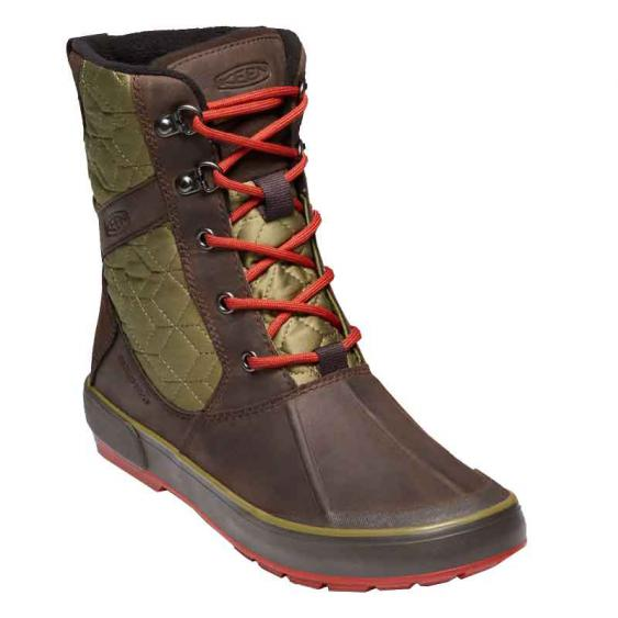 Keen Elsa II Quilted WP Mulch/Martini Olive 1019563 (Women's)