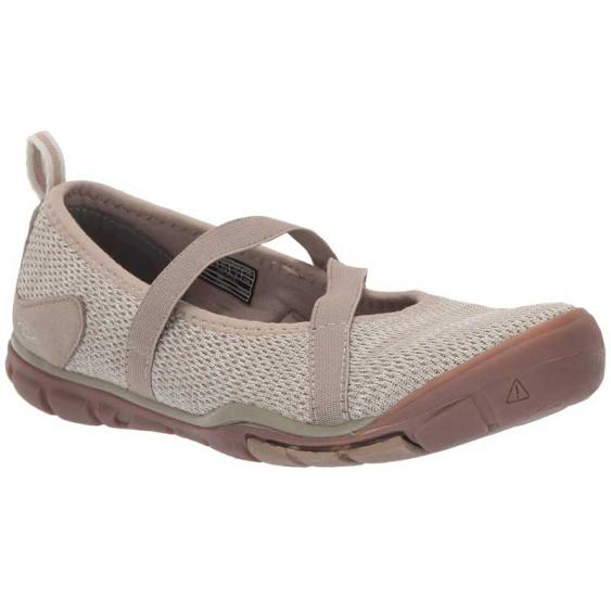 Keen Hush Knit MJ Plaza Taupe/ Silver Birch 1020378 (Women's)