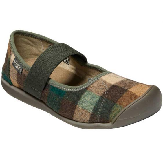 Keen Sienna MJ Plaid Brown/Climbing Ivy 1021788 (Women's)