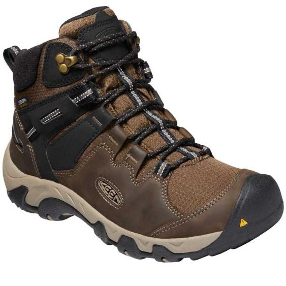 Keen Steens Mid WP Canteen/ Black 1022327 (Men's)