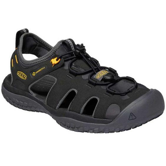 Keen Solr Sandal Black/Gold 1022246 (Men's)