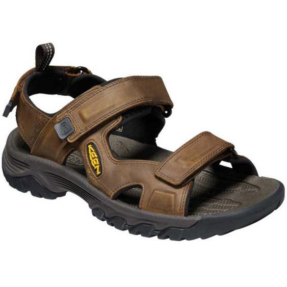 Keen Targhee III Open Toe Sandal Bison/Mulch 1022423 (Men's)