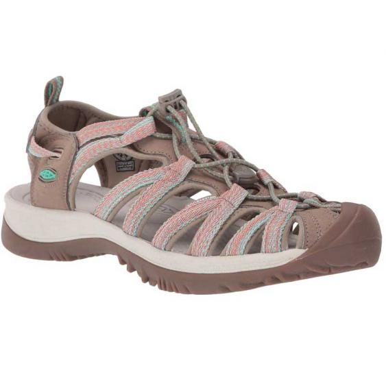 Keen Whisper Taupe/ Coral 1022810 (Women's)