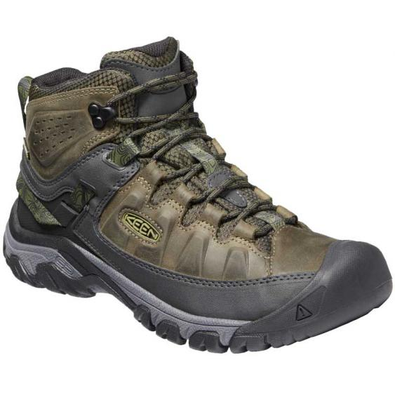 Keen Targhee III Mid WP Dark Olive/ Black 1024051 (Men's)